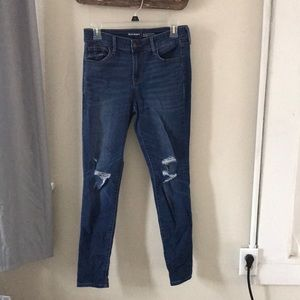 Old Navy Mid-Rise Rockstar Jeans
